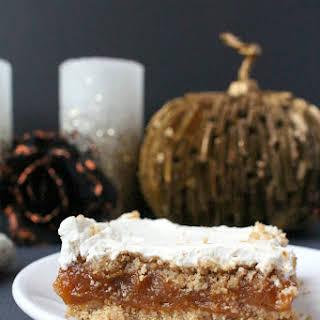 Pumpkin & Marshmallow Dessert.
