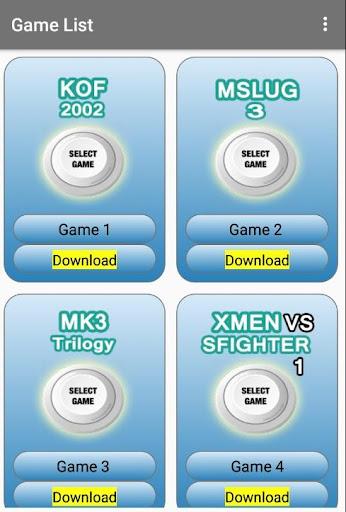 Arcade games : King of emulators 1.0 screenshots 8