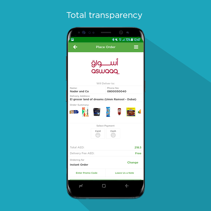 El Grocer: UAE grocery Home delivery app- screenshot