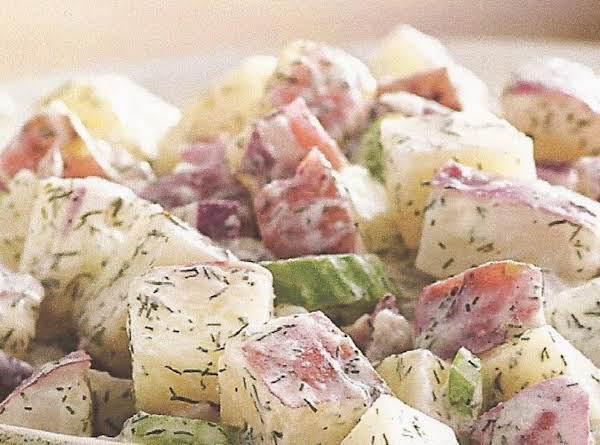 Fresh Dill-yogurt Potato Salad Recipe