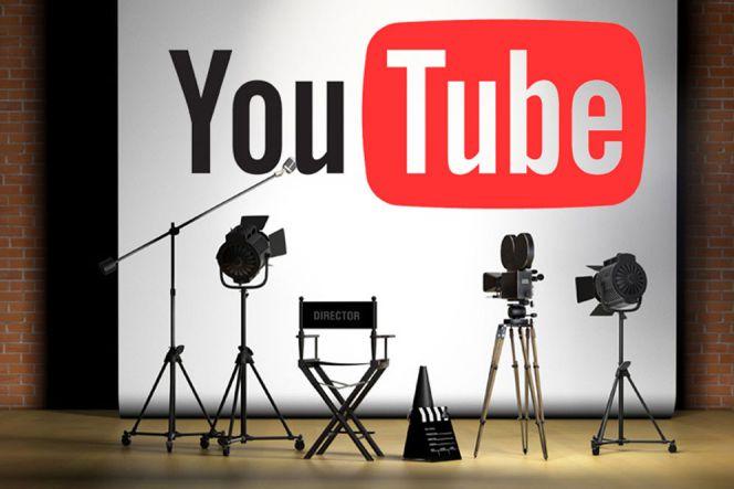 Ilustrasi studio kreator youtube