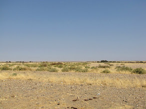 Photo: Scenery along the road B1 to Keetmanshoop