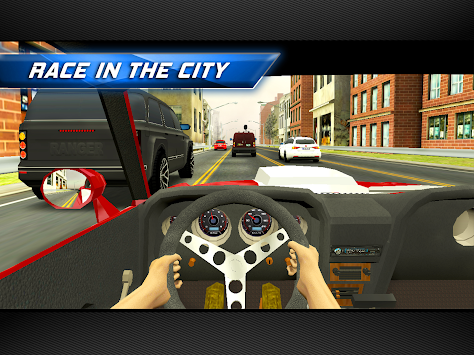 Racing in City apk screenshot