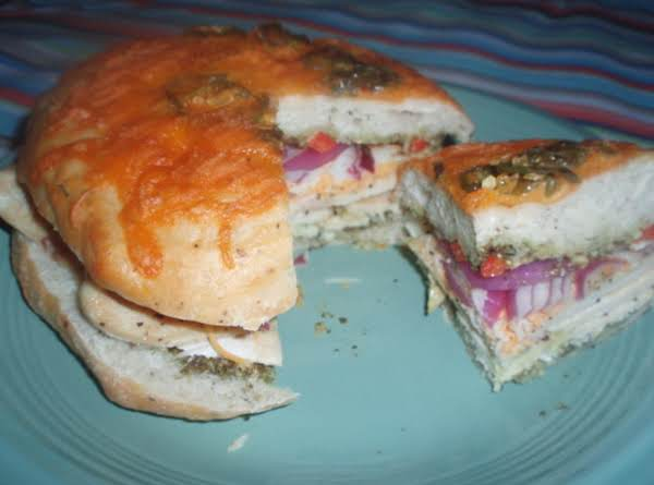Chicken Asiago Panini