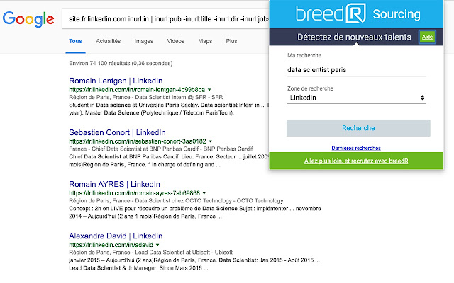 breedR Sourcing /Talent acquisition plateform