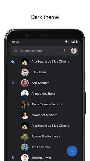 Contacts 3.33.2.335052592 screenshots 3