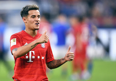 Philippe Coutinho va quitter le Bayern Munich