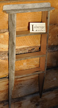 Photo: #6 Ladder Shelf - Laberge douglas fir planed smooth on one side, weathered on the other.