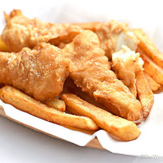 Beer Batter Fish and Chips.
