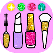 Beauty Coloring Book Glitter - ART Game