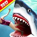 Angry Shark 2017 : Simulator Game icon