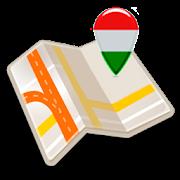 Map of Hungary offline