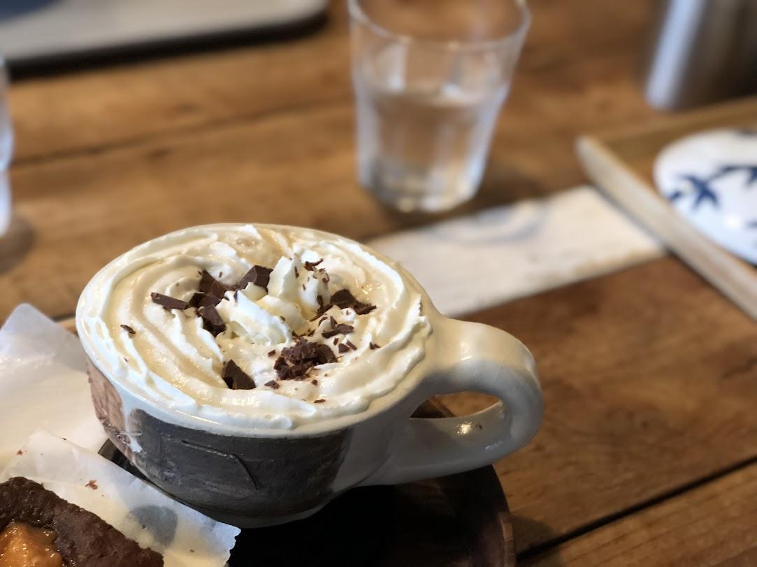 金谷のSANGAのウィンナコーヒー