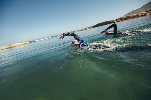 Don't just swim long – try these open water swim sets