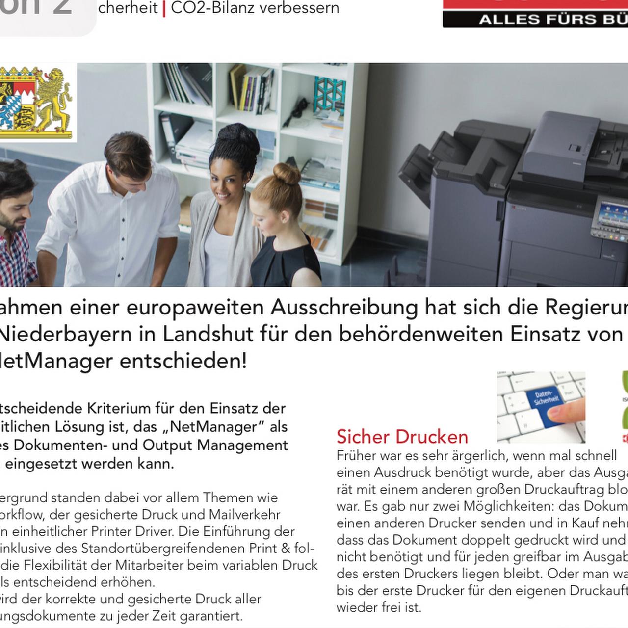 Neumaier alles fürs Büro GmbH - Fachhandel für Bürolösungen in Landshut