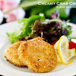 Creamy Crab Croquette