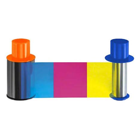 Färgband Fargo DTC4500 - YMCKOK - 500 utskrifter