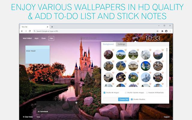 Castle Wallpaper HD Fortress New Tab