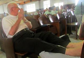 Photo: Dom  Luciano no 3º  Encontro de  formação Diocesano sobre o Sinodo dos Bispos