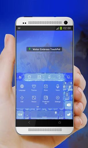 無料个人化Appの水の抱擁 TouchPal|記事Game