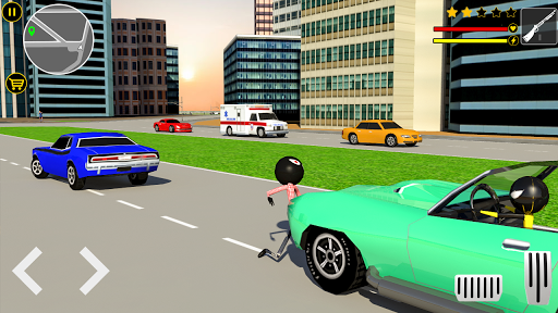 Spider Stickman Games : Las Vegas City Gangster screenshots apkspray 2