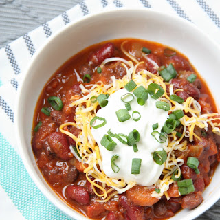 Crock Pot Spicy Vegetarian Chili Recipes.