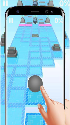 Dance Ball roll road sky Line screenshot 4