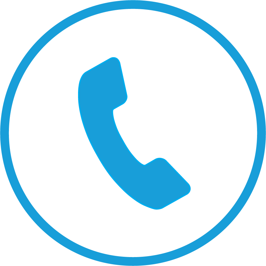 circle - phone - mccu blue
