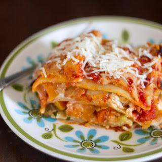 Roasted Fall Vegetable Lasagna