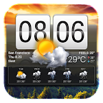 Flip Clock & Weather Widget 15.1.0.45940