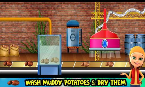 Potato Chips Snack Factory: Fries Maker Simulator 1.0.8 screenshots 2