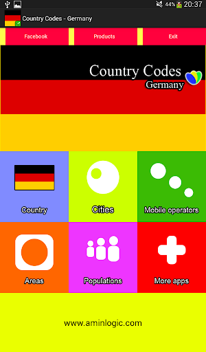 Country Codes - Germany