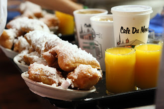 Photo: Beignets at Cafe du Monde http://ow.ly/caYpY
