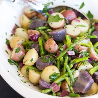 Asparagus Potato Salad.