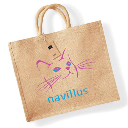 Custom Branded Jute Shopper Bags