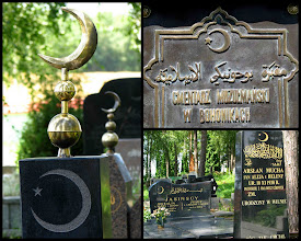 Photo: Bohoniki. Cmentarz muzułmański (mizar). Najstarsze nagrobki pochodzą z końca XVIII w.