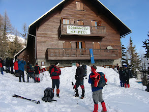 Photo: Ni bilo neke posebne volje za na vrh Pece