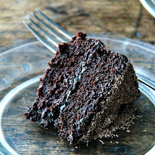 Gourmet's Double Chocolate Cake with Chocolate Ganache.