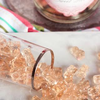 Pink Champagne Gummy Bears.