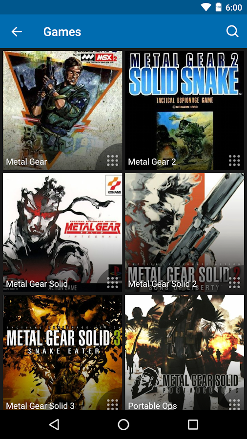 Wikia: Metal Gear – Screenshot