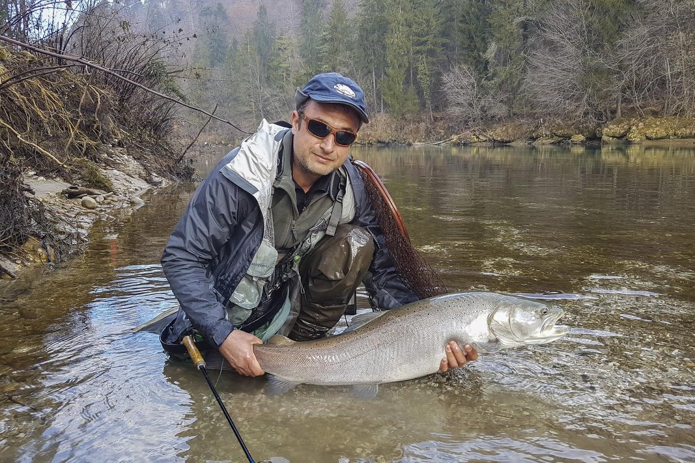 Таймени в Словения (Hucho-Hucho / Slovenia) - река Сава (Sava River)