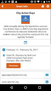 AWC Events - náhled