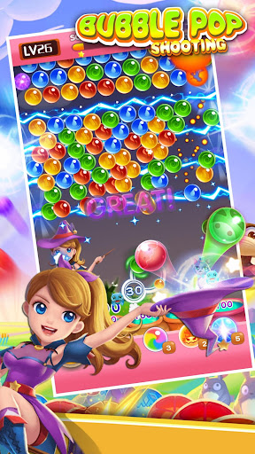Bubble Pop - Classic Bubble Shooter Match 3 Game apkpoly screenshots 1