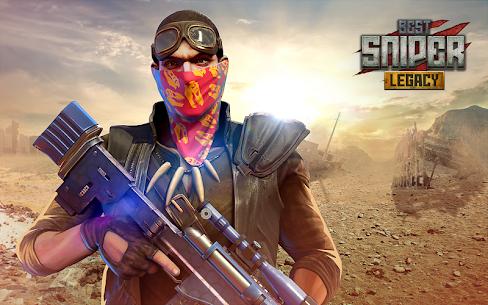 Best Sniper Legacy MOD (Unlimited Money) 1