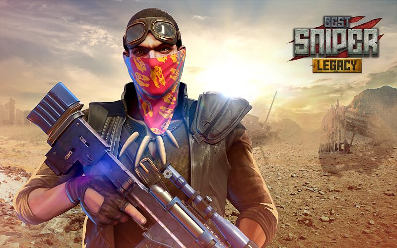 Best Sniper Legacy: Dino Hunt & Shooter 3D Screenshot 4