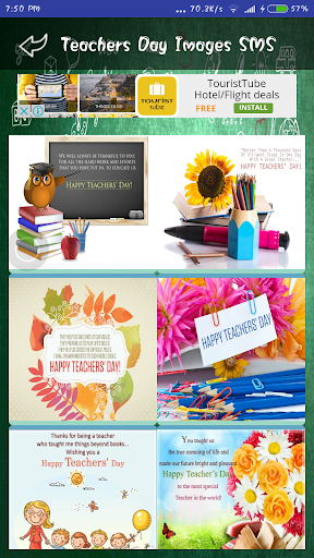 Teachers Day Wallpapers Wishes SMS Quotes Images 1.0 screenshots 8