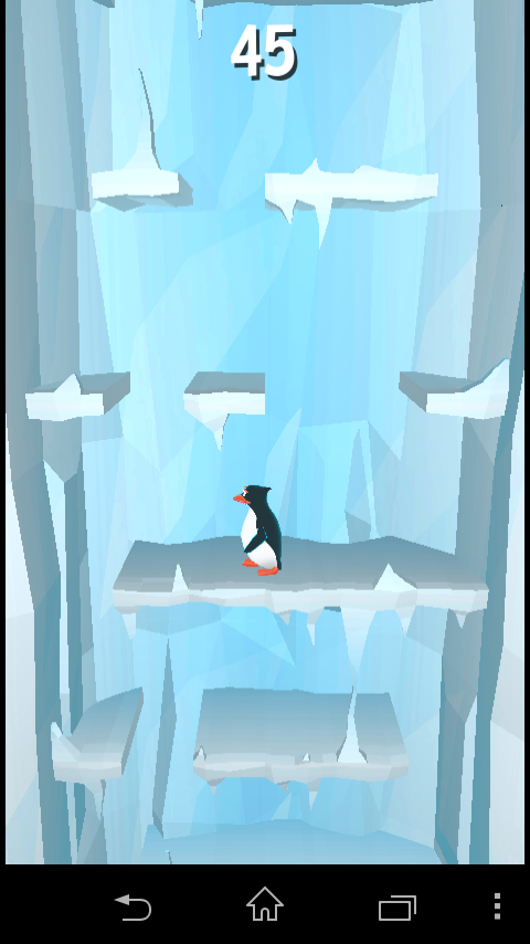 Penguin In Panic!!!- screenshot
