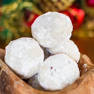 Chocolate Pecan Snowballs