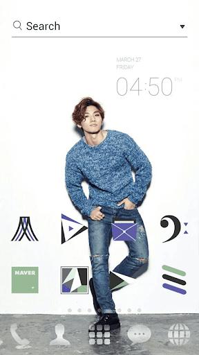 Bigbang2015 D-LITEドドルランチャーテーマ