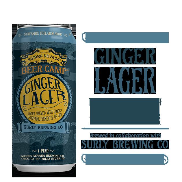 Logo of Sierra Nevada Beer Camp 2017: Ginger Lager (Surly Collab)